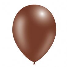 "Chocolate 5 inch Balloons - Decotex 5"" Balloons 100pcs"